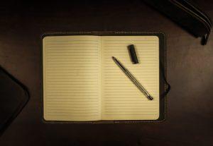 Writers block, Blank page